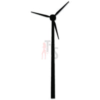 Windmill Renewable Energy Electricity Decal Sticker