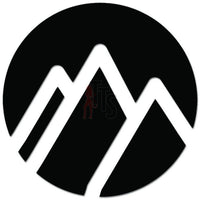 Mountain Adventure Outdoors Decal Sticker Style 2
