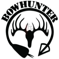 Bowhunter Hunting Bow Arrow Decal Sticker