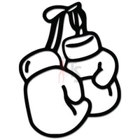 Boxing Gloves Boxer Knockout Decal Sticker