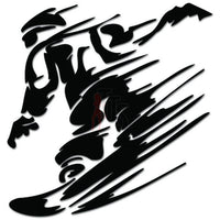 Extreme Snowboarding Snowboard Snow Sports Decal Sticker