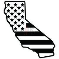 California State USA American Flag Decal Sticker