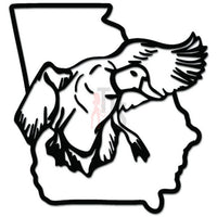 Georgia State Duck Drake Hunting Decal Sticker