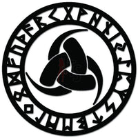 Rune Protection Norse Odin Vikings Thor Decal Sticker Style 3