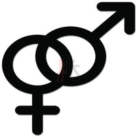 Sex Symbols Male Female Decal Sticker