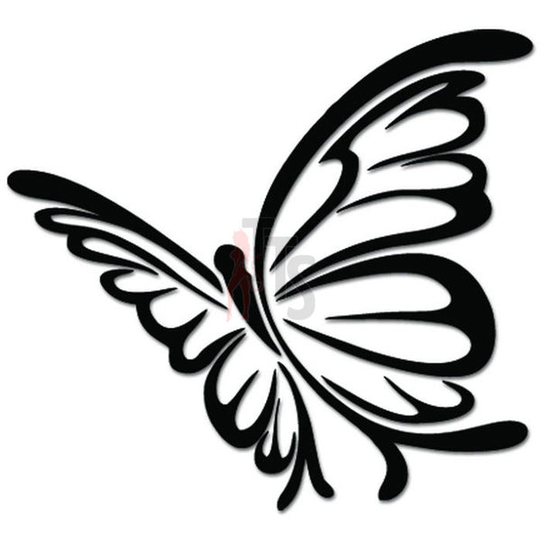 Tribal Butterfly Insect Decal Sticker