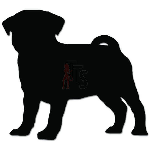 Pug Dog Puppy Pet Lover Decal Sticker