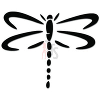 Tribal Dragonfly Decal Sticker