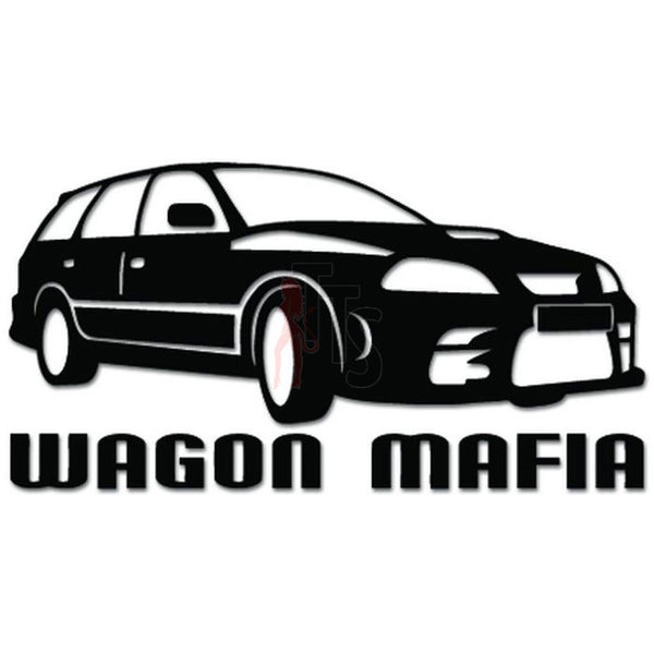 Wagon Mafia Caldina JDM Japanese Decal Sticker