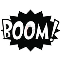 Boom Exclamation Superhero Fight Decal Sticker