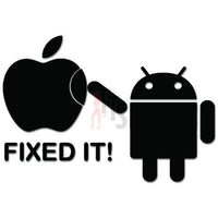 Funny Fixed It Android Apple Smartphone Decal Sticker