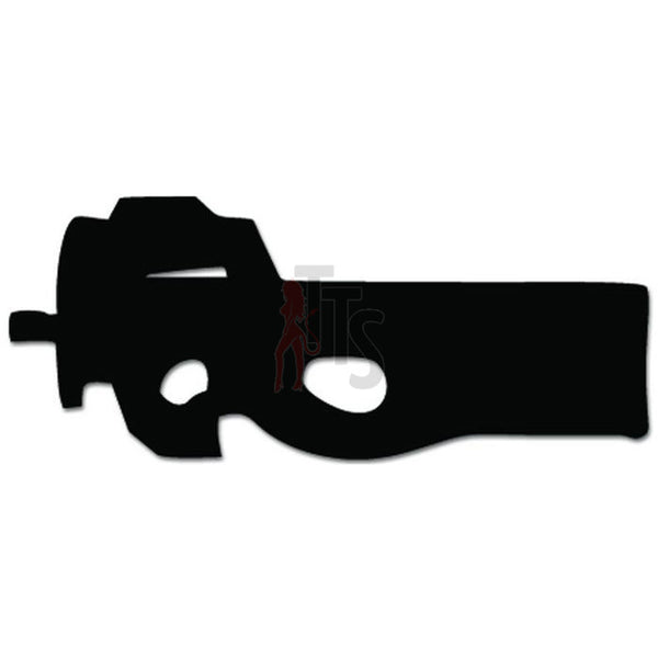 FN P90 Submarchine Gun Decal Sticker