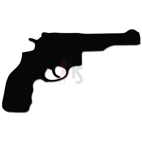 Gun Pistol Revolver Decal Sticker