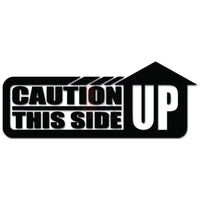 Caution This Side Up JDM Japanese Decal Sticker