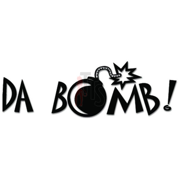 Da Bomb JDM Japanese Decal Sticker Style 1