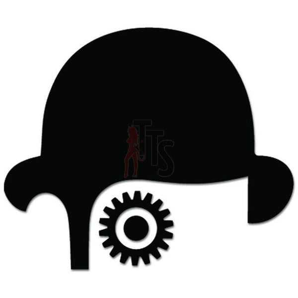 Clockwork Orange Eye Alex Decal Sticker Style 2