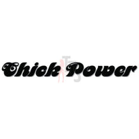 Chick Power Girl Feminist Decal Sticker