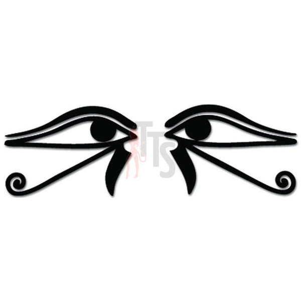 Eye of Horus Ra Egyptian God Decal Sticker