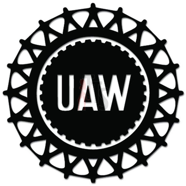 UAW United Auto Workers Union Member Decal Sticker