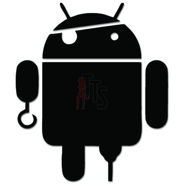 Android Pirate Crossover Parody Decal Sticker