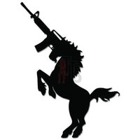 Unicorn AR-15 Assault Rifle Gun Decal Sticker