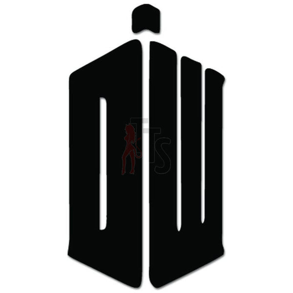 Dr. Who Tardis Decal Sticker Style 1