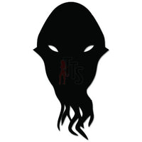 Dr. Who Alien Face Dude Decal Sticker