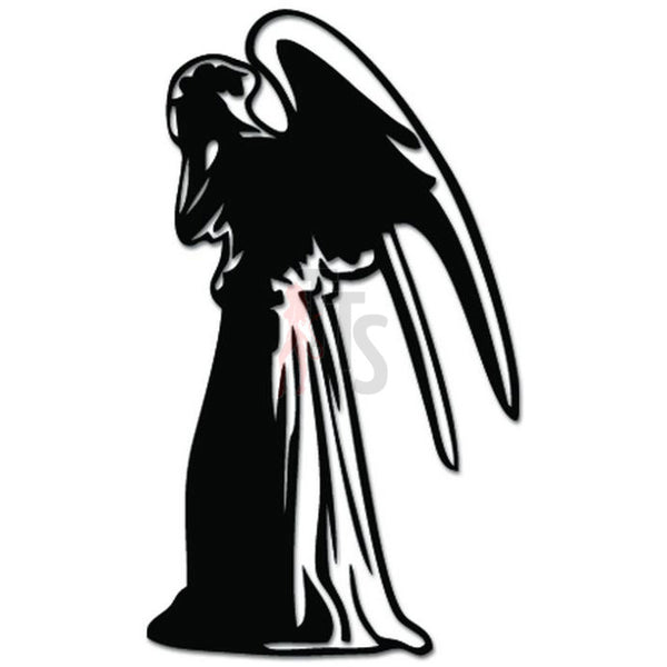 Dr. Who Weeping Angel Decal Sticker