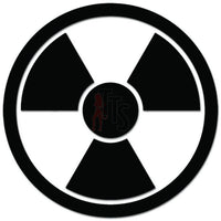 Radioactive Emblem Decal Sticker