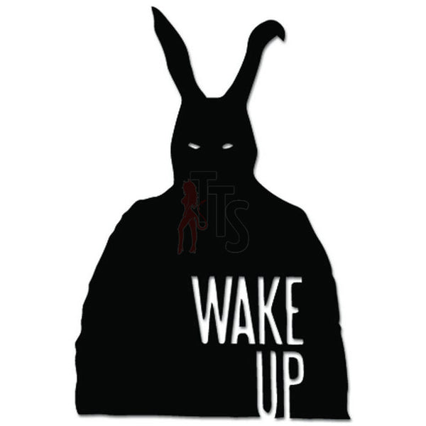Donnie Darko Franko Wake Up Decal Sticker