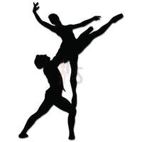 Ballet Couple Dance Dancing Theatre Decal Sticker Style 1