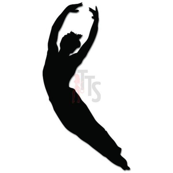 Ballet Man Dance Dancing Theatre Decal Sticker Style 1