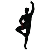 Ballet Man Dance Dancing Theatre Decal Sticker Style 2