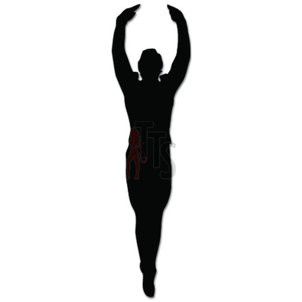 Ballet Man Dance Dancing Theatre Decal Sticker Style 3
