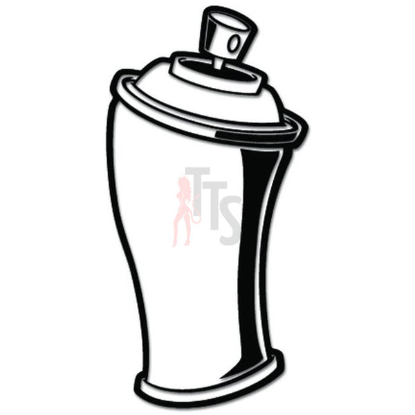 Spray Paint Can Graffiti Artist Decal Sticker