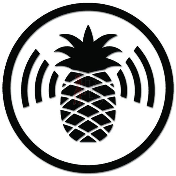 Pineapple Wifi Internet Decal Sticker