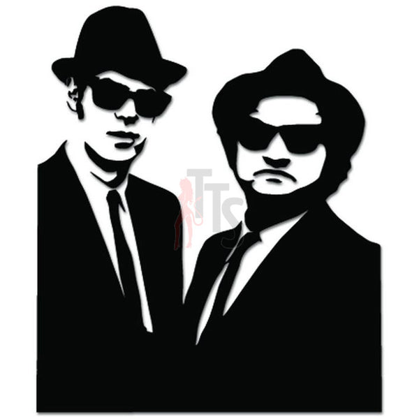 Blues Brothers Music Rock Soul Jazz Decal Sticker