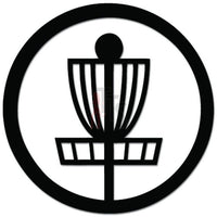 Disc Golf Frisbee Decal Sticker