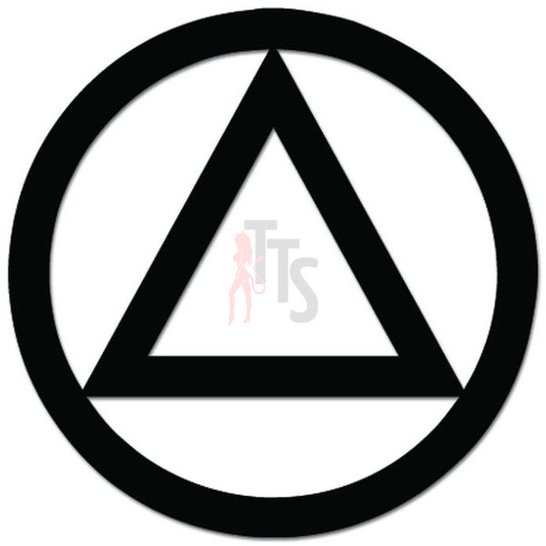 Alcoholics Anonymous Decal Sticker