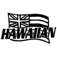 Hawaii State Flag Decal Sticker