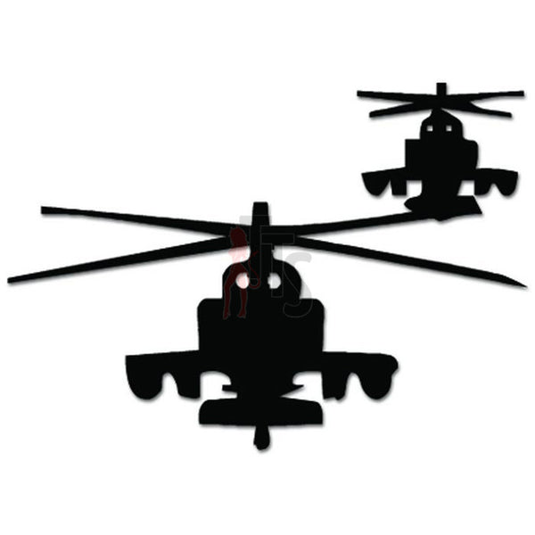 Military Helicopters Decal Sticker