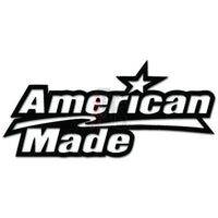 American Made USA Decal Sticker