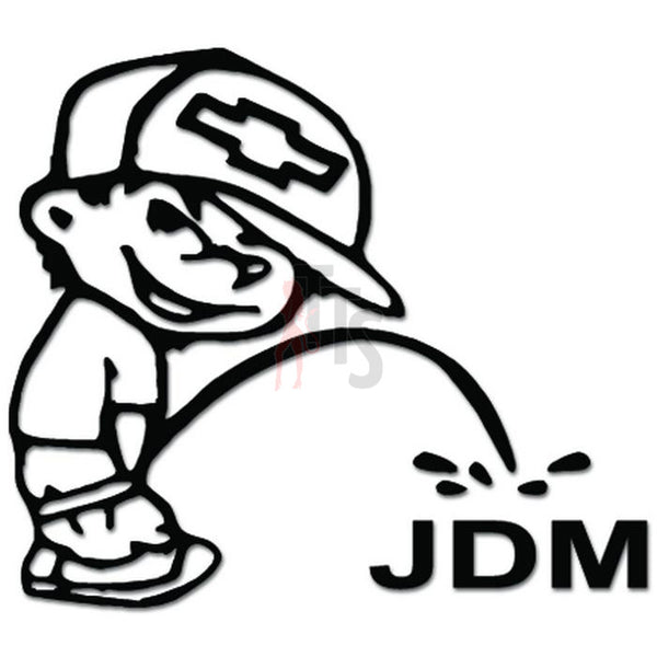 Piss On JDM Japanese Decal Sticker
