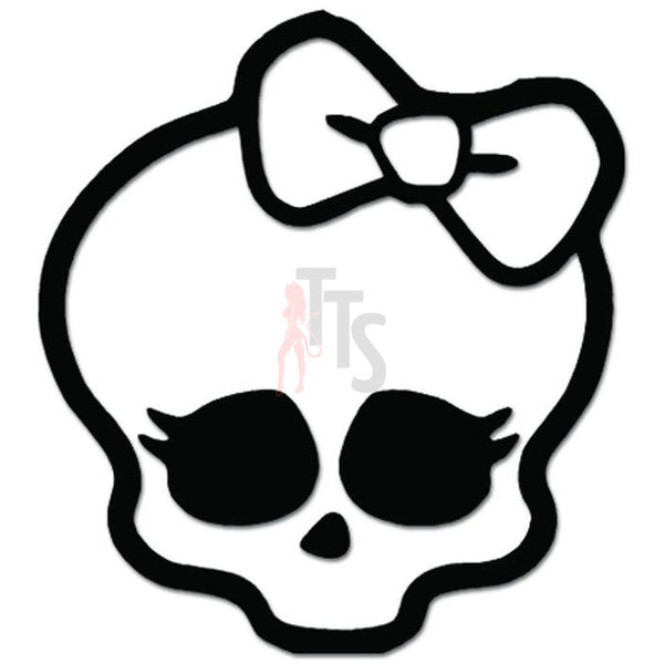 Monster High Skull Skullete Decal Sticker