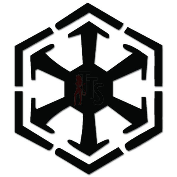 Sith Emblem Dark Side Decal Sticker