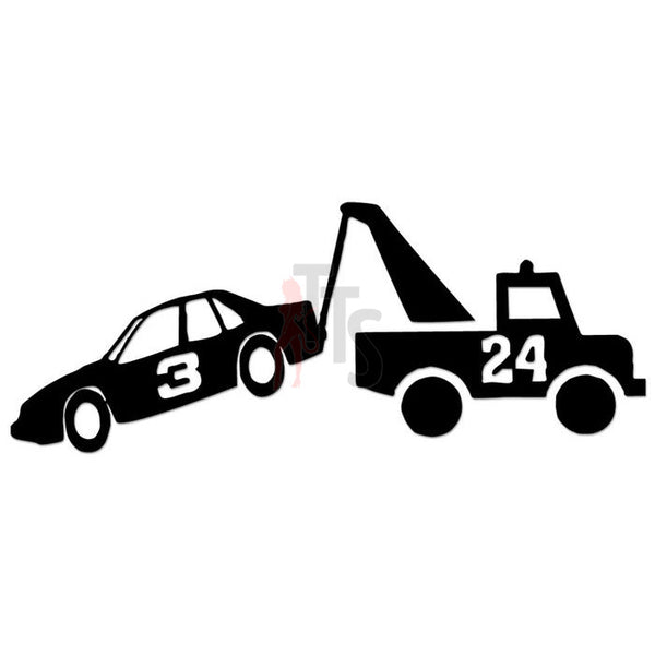 Nascar Number 24 Truck Towing Number 3