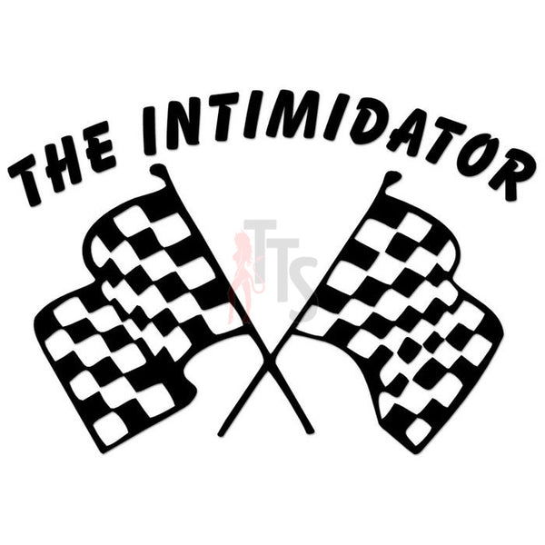 Nascar Intimidator Racing Flag