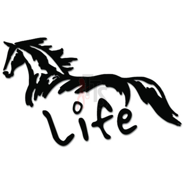 Horse Life Decal Sticker