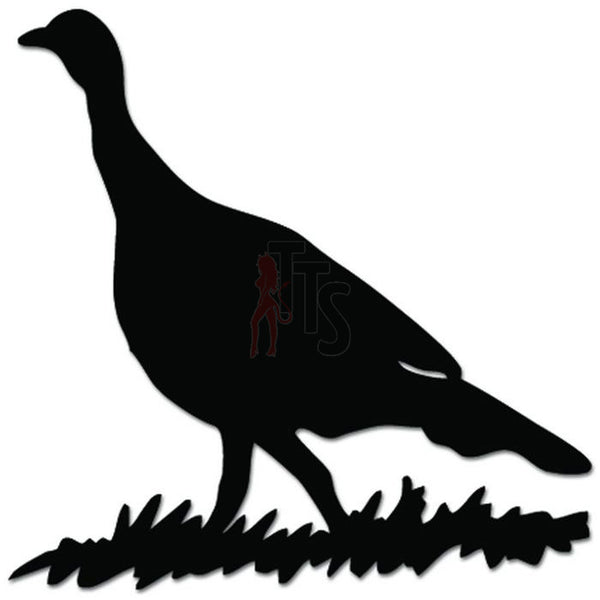 Pheasant Bird Hunting Decal Sticker Style 4