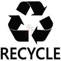 Recycle Symbol Trash Bin Decal Sticker Style 2